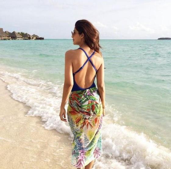 मालदीव, सुंदर समुद्रकिनारा आणि ग्लॅमरस शिल्पा..(छाया- इंस्टाग्राम)