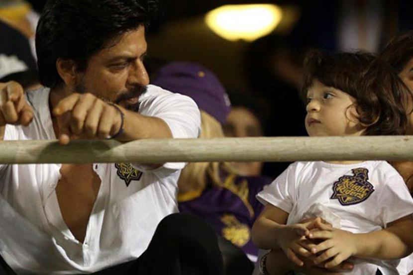 AbRam, Shah Rukh Khan