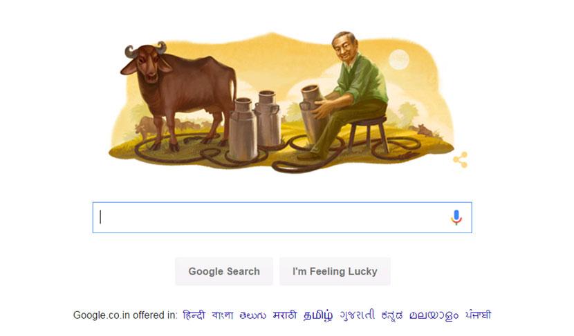 Google Doodle, Dr Verghese Kurien, Milk, Amul, Loksatta, Loksatta news, Marathi, Marathi news