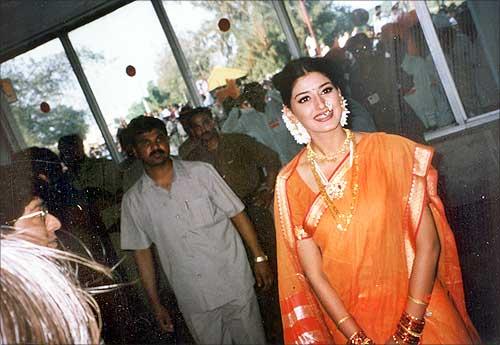 Sonali Bendre, Sonali Bendre comeback , Marathi film