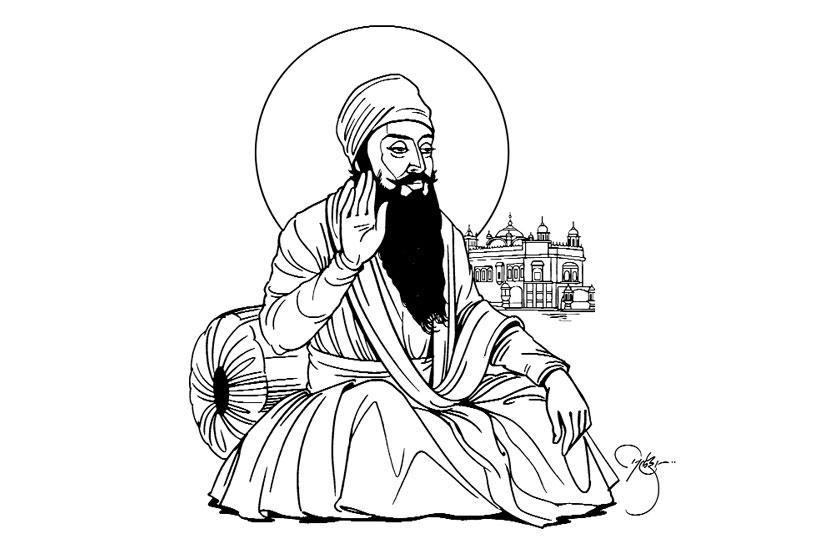Guru arjan dev, Sanit Tradition, Sikh guru, Chaturange, Chaturange news, Marathi, marathi news