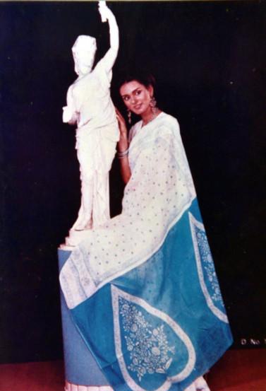 नीरजा भानोतचे दुर्मिळ छायाचित्र.
