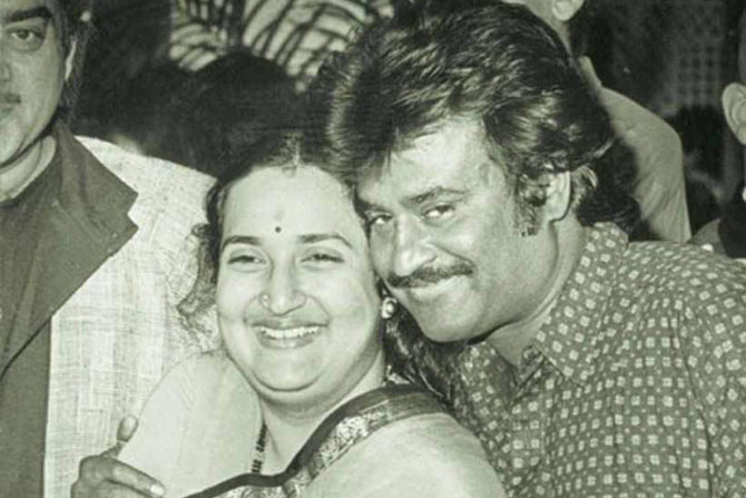 Rajinikanth , Bollywood, Tollywood, tamil super hero , see pics , Rajinikanth wife Latha , Loksatta , Loksatta news , Marathi , Marathi news