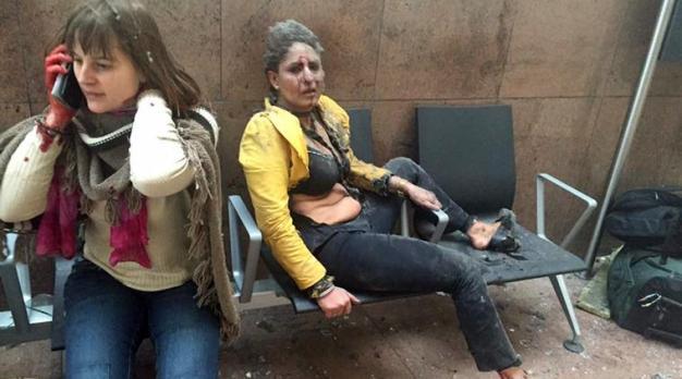 Brussels attack, Brussels blast