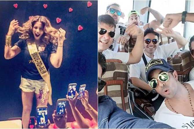 Bipasha Basu , Karan Singh Grover , Bachelor party, Bollywood, Entertainment, bridal shower, see pics, Loksatta, Loksatta news, Marathi, Marathi news