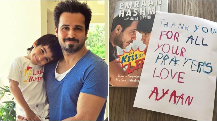 Emraan Hashmi , Bollywood, The Kiss Of Life , Ayaan hashmi, The Kiss of Life How A Superhero and My Son Defeated Cancer, Entertainment news, Loksatta, loksatta news, Marathi, Marathi news