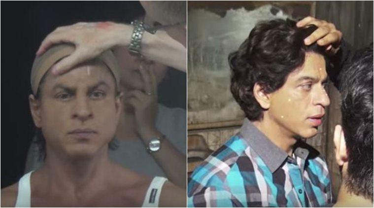 Shah Rukh Khan, Fan, Bollywood, Entertainment, Gaurav in Fan , Shah Rukh Khan transformation, make up, Loksatta, Loksatta news, Marathi, Marathi news