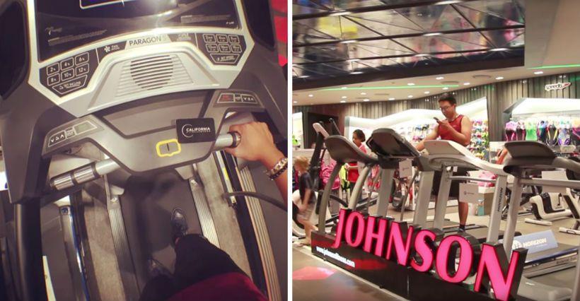 Caption on social media: Try hard #Gym