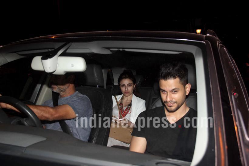 अभिनेत्री सोहा अली खान देखील पती कुणाल खेमूसोबत पार्टीला उपस्थित होती. (छाया- वरिन्दर चावला)