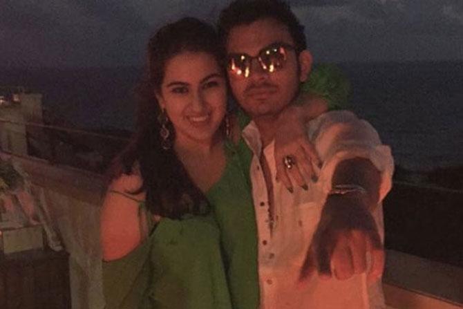 Saif Ali Khan beautiful daughter , Sara Ali Khan , Bollywood, Veer Pahariya , Sushil Kumar Shinde , viral, social media, Entertainment, Loksatta, Loksatta news, Marathi, Marathi news