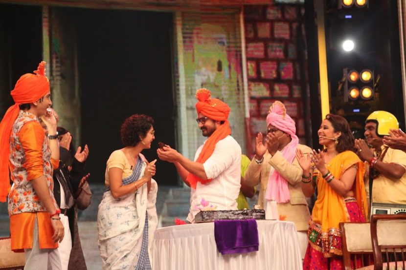 आमिर खानने या मंचावर त्याचा वाढदिवसही मोठ्या उत्साहात साजरा केला.