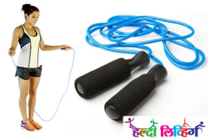 skipping rope, lose belly fat