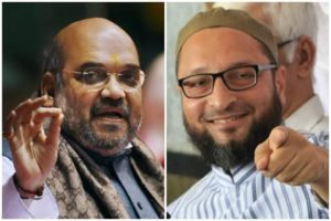 AIMIM, chief Asaduddin Owaisi , Owaisi dares Amit Shah to contest against him from Hyderabad , BJP, Loksatta, Loksatta news, Marathi, Marathi news , Loksabha Election 2019, Telangana 2019 assembly elections ,
