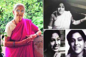 Veteran marathi actress rekha kamat