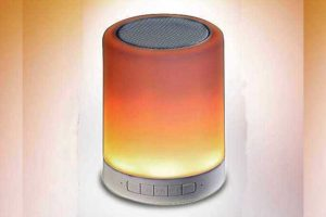 Bluetooth Speaker with Touch Lamp
