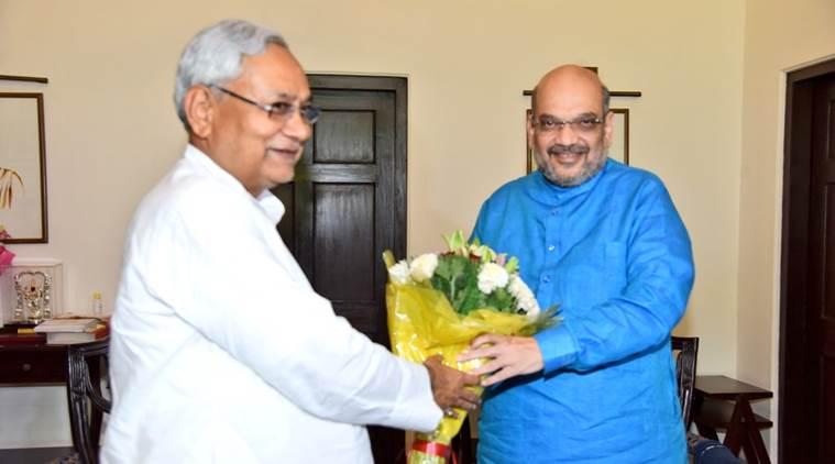 NDA , Nitish Kumar , Amit Shah invites JDU to join NDA , Sharad Yadav, Ali anwar, BJP , Loksatta, loksatta news, Marathi, Marathi news