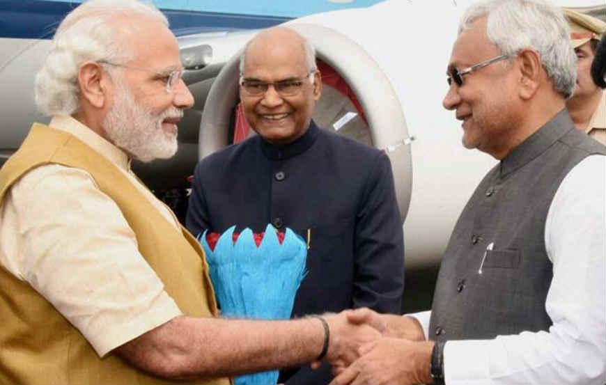 cm nitishkumar, led, JDU, passes, resolution, join, bjp, nda, lok sabha election 2019, pm narendra modi