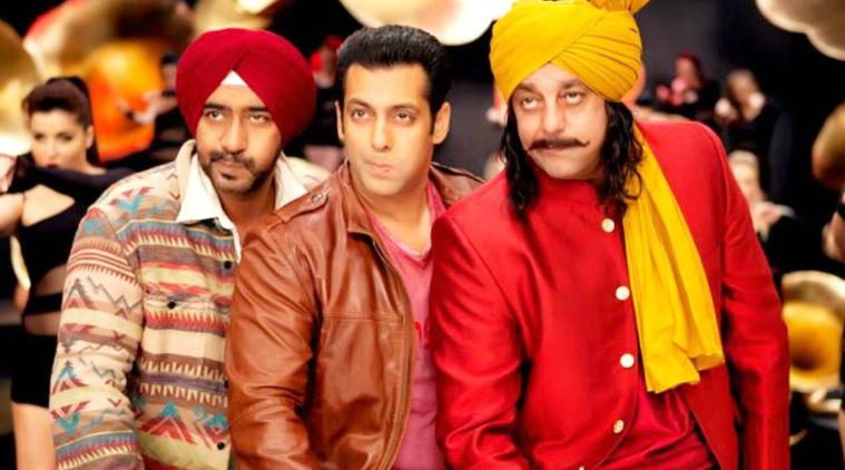 सलमान खान, अजय देवगण, संजय दत्त