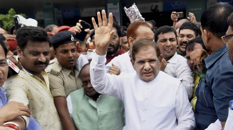 JDU takes action , leader of party in Rajya Sabha , Sharad Yadav replaced as leader of party in Rajya Sabha , Ramchandra Prasad Singh , Loksatta, Loksatta news, Marathi, Marathi news