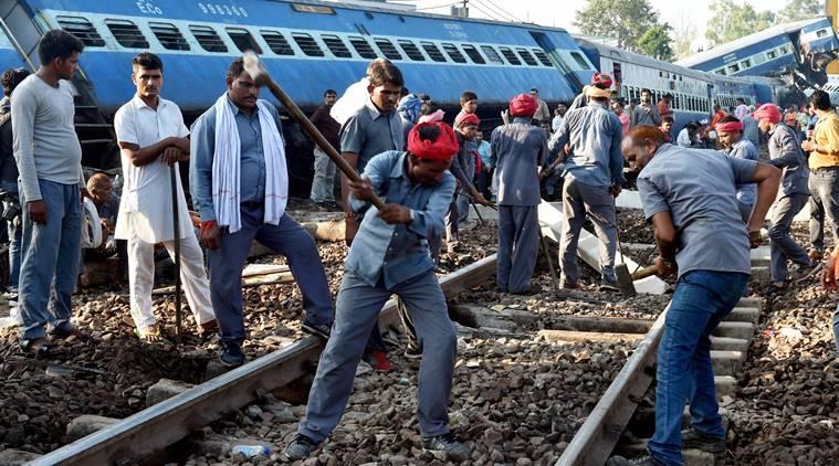 Utkal Express derailment , Khatauli , UP, Railway, Loksatta, Loksatta news, Marathi, Marahi news
