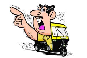 Rickshaw driver,