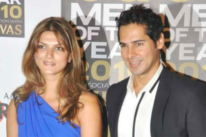 Dino Morea and Nandita Mahtani