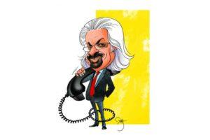 father of Indian Telecom Sam Pitroda