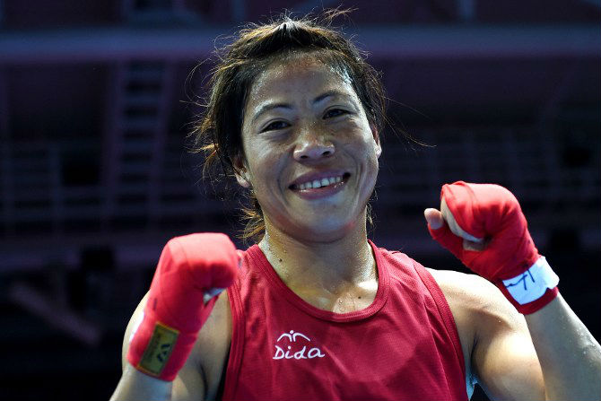 indian boxer, M C Mary Kom, gold medal at Asian boxing championship,marathi news