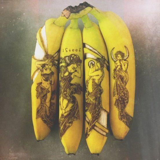 केळं म्हटले की सर्वांच्या डोक्यात केळ्याच्या शिकरणाच पहिला विचार येतो. पण, जर या फळावर कलाकुसर करता आली तर.... त्यावर कोरून किंवा रंगवून काही नवीन आर्ट तयार करता आले तर.... विचार करा. असेच काही 'फ्रुटडुडल' स्टेफन ब्रुश याने तयार केले आहेत. यामध्ये केळं या फळाचा प्रामुख्याने वापर करण्यात आला आहे. बॉलपॉइंट पेनाचा वापर करून त्याने केळ्यावर काही चित्रही रेखाटली आहेत.