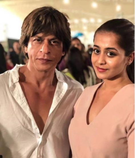शाहरुख खान आणि नील नितीन मुकेशची पत्नी रुक्मिणी