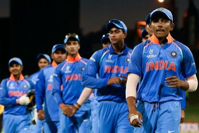 या विजयानंतर भारत आता अंतिम सामन्यात ऑस्ट्रेलियाविरुद्ध मैदानात उतरेल तो विश्वविजेता होण्यासाठीच. ३ फ्रेब्रुवारी रोजी १९ वर्षाखालील विश्वचषकाचा अंतिम सामना रंगणार आहे. (छाया सौजन्य: ट्विटर)