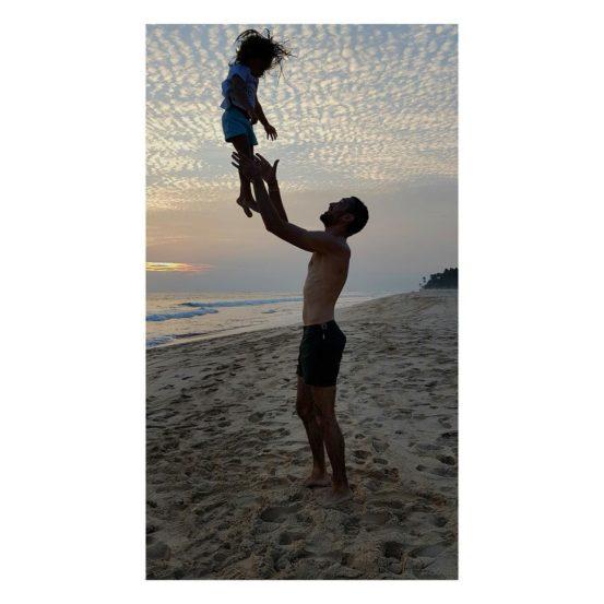 इमरान आणि इमारा या बाप-लेकीचा एक सुंदर फोटो. (छाया सौजन्य : इन्स्टाग्राम)