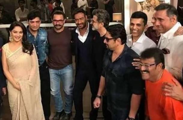 अजय देवगण 'टोटल धमाल' चित्रपटाची सहनिर्मिती करत आहे.