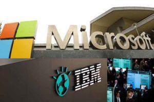 Microsoft , IBM