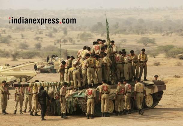 भारतीय लष्कराकडून १५ जानेवारी हा दिवस सैन्य दिन म्हणून साजरा करण्यात येतो. (छाया सौजन्य- संदीप दौंडकर)