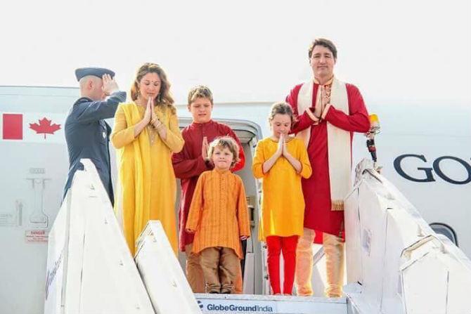 कॅनडाचे पंतप्रधान जस्टीन ट्रुडो हे १७ फेब्रुवारी ते २४ फेब्रुवारी या काळात  भारत दौऱ्यावर आहेत.