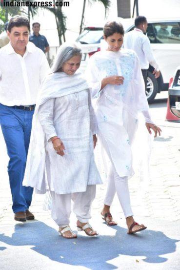 जया बच्चन, श्वेता नंदा (फोटो सौजन्य- Varinder Chawla)