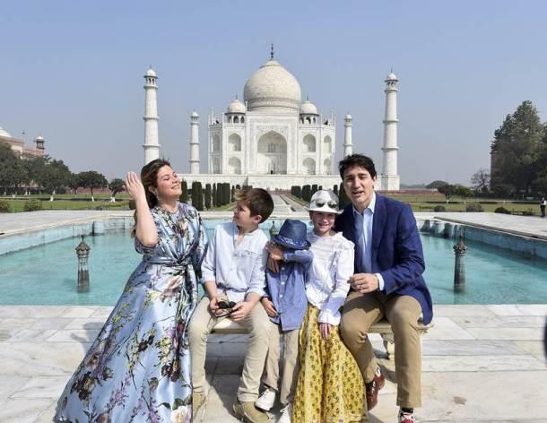 भारत  दौऱ्यात जस्टीन ट्रुडो  सहकुटुंबासह नवी दिल्ली, मुंबई, अहमदाबाद, आग्रा, अमृतसर या शहरांना भेट देणार  आहेत.
