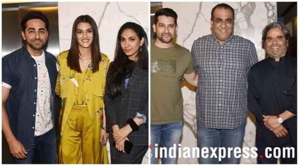 अक्षय कुमार, राधिका आपटे आणि सोनम कपूर यांचा बहुप्रतिक्षित पॅडमॅन चित्रपट आज सर्वत्र प्रदर्शित होत आहे. तत्पूर्वी, आर बाल्की दिग्दर्शित या चित्रपटाचे बॉलिवूडकरांसाठी खास स्क्रिनिंग ठेवण्यात आले होते.