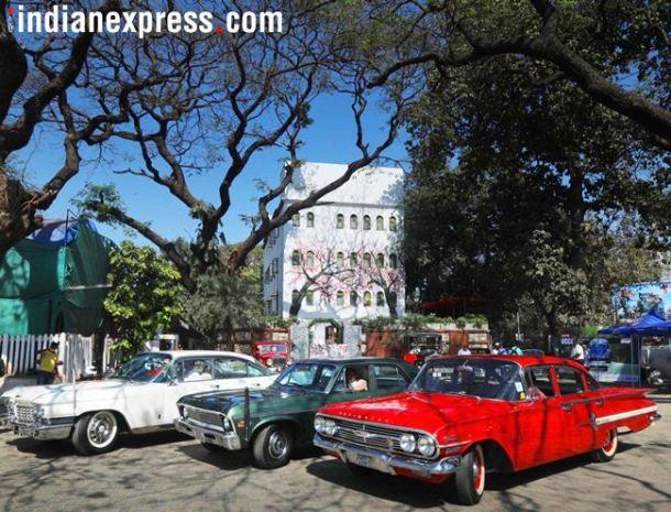 निमित्त होते 'द मोटूल' प्रायोजित 'विंटेज अॅण्ड क्लासिक कार क्लब ऑफ इंडिया'कडून (व्हीसीसीसीआय) आयोजित करण्यात आलेल्या विंटेज कार रॅलीचे.