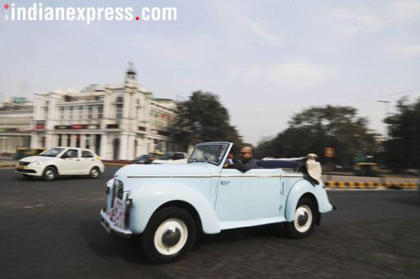 केवळ मुंबईतच नाही तर दिल्लीतही दुर्मिळ आणि क्लासिक गाड्यांची रॅली पाहावयास मिळाली. दरवर्षी फेब्रुवारी महिन्याच्या दुसऱ्या रविवारी ही रॅली भरवण्यात येते.