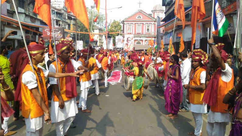 राज्यासह देशभरात आज गुढीपाडवा अर्थातच हिंदू नववर्षाचा उत्साह पाहायला मिळत आहे.