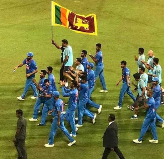 सामना जिंकल्यानंतर अनेक लंकन चाहत्यांनी नागिन डान्स करुन भारताचा विजय साजरा केला. तर भारतीय खेळाडूंनीही अगदी सामन्यानंतरच्या भाषणांमध्ये आणि व्हिक्ट्री लॅपमध्ये चाहत्यांना धन्यवाद म्हटले