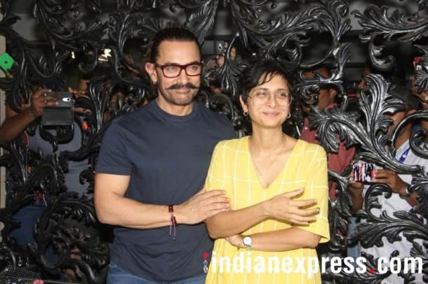 आमिर सध्या 'ठग्स ऑफ हिंदोस्थान'च्या चित्रिकरणात व्यग्र आहे. वाढदिवसानिमित्तानं सुट्टी घेऊन आमिर मुंबईत परतला.