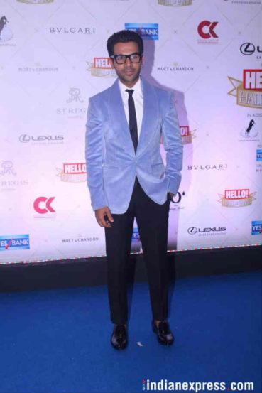 'पॉप्युलर चॉईस' या पुरस्काराने अभिनेता राजकुमार रावला गौरविण्यात आलं. (छाया : Varinder Chawla)