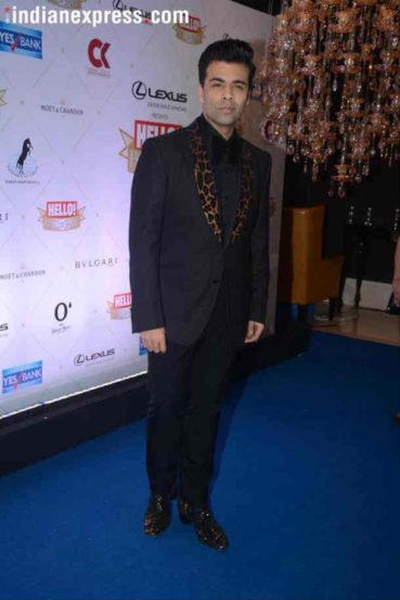 निर्माता, दिग्दर्शक करण जोहरला 'मोस्ट व्हर्सटाइल पर्सनालिटी ऑफ द इयर' या पुरस्काराने गौरविण्यात आलं. (छाया : Varinder Chawla)