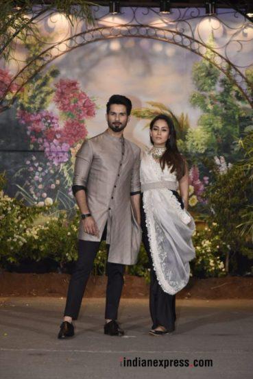 शाहिद कपूर आणि त्याची पत्नी मीरा राजपूत