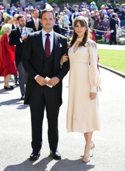'सूट' या टीव्ही सीरिजमधील अभिनेता पॅट्रीक जे अॅडम्स (मेगनचा ऑनस्क्रीन पती) आणि त्याची पत्नी ट्रोइन बेलीसारिओ