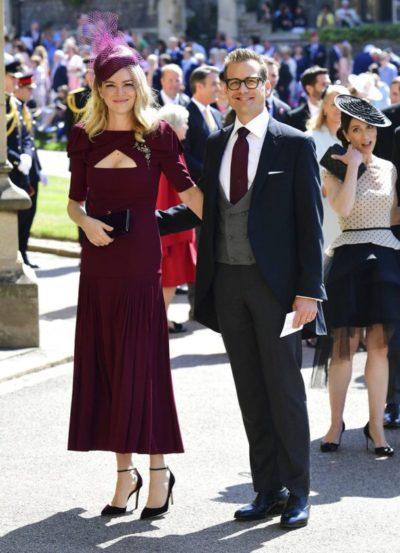 मेगनच्या 'सूट' या टीव्ही सीरिजमधील सहकलाकार गेब्रीयल मॅट आणि त्याची पत्नी जेसिंडा बॅरेट
