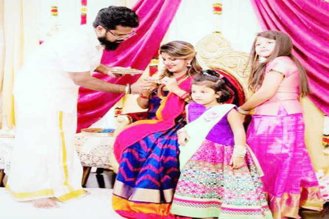 रंभा आणि इंद्रन यांना लानया आणि साशा या दोन मुलीही आहेत.